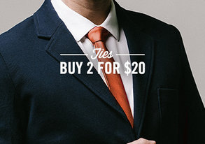 Shop Knot Up: 2 for $20 Skinny Ties