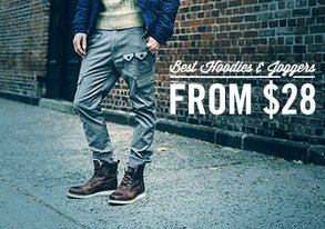 Shop Best Hoodies & Joggers from $28