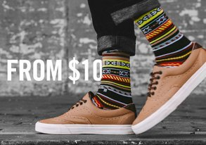 Shop Socks from $10 ft. NEW Stance