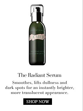 The  Radiant Serum Smoothes, lifts dullness and dark spots for an instantly  brighter, more translucent appearance.