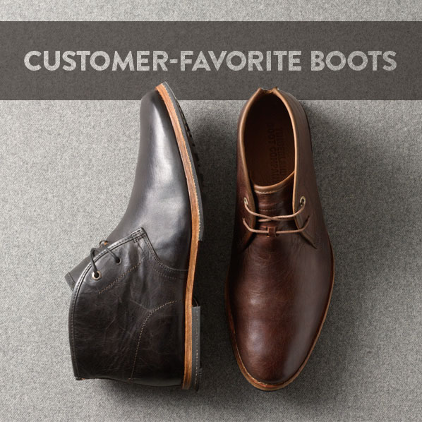 CUSTOMER-FAVORITE BOOTS