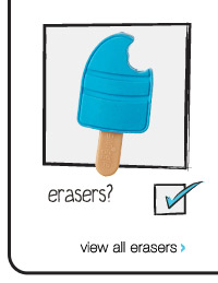 erasers? view all erasers >