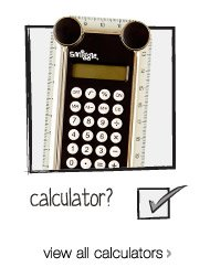 calculator? view all calculators >