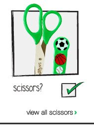 scissors? view all scissors >