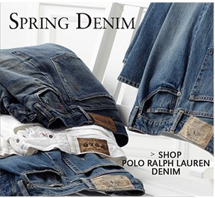 SPRING DENIM | SHOP POLO RALPH LAUREN DENIM
