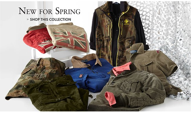 NEW FOR SPRING | SHOP THIS COLLECTION