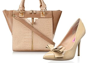 Nude & Neutral: Shoes & Handbags