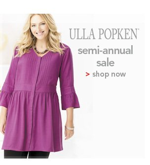 Shop Ulla Popken Semi-Annual Sale
