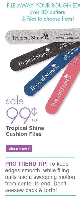 Tropical Shine Cushion Files