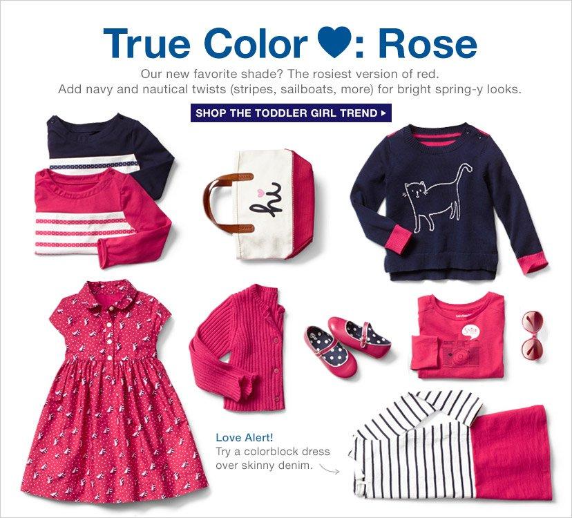 True Color ♥: Rose | SHOP THE TODDLER GIRL TREND