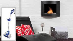 Escape from the Cold: Indoor Fireplaces and Snow Removal