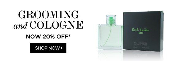Men's Grooming and Cologne