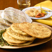 Savory Rosemary Tortas Crisps