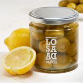 Lemon Stuffed Olives