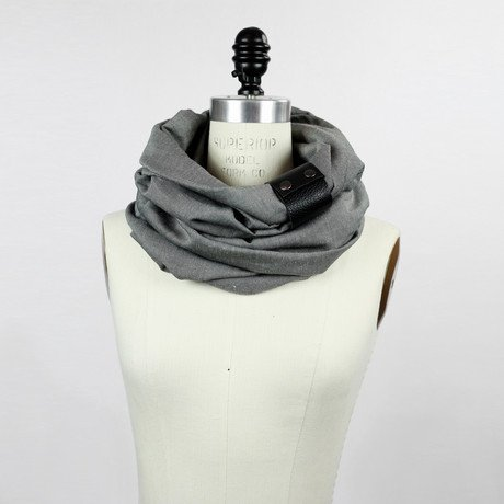 Amelie Scarf // Light Gray