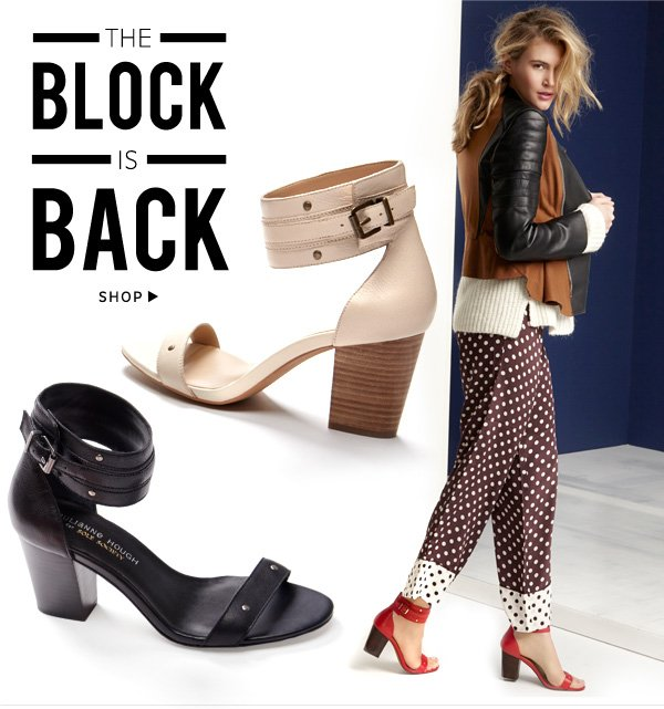 The Block is Back. Shop Rochelle