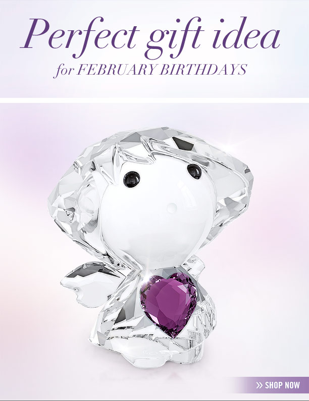 The February Birthstone Angel