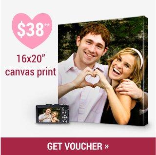 $38 Photo on Canvas Prints