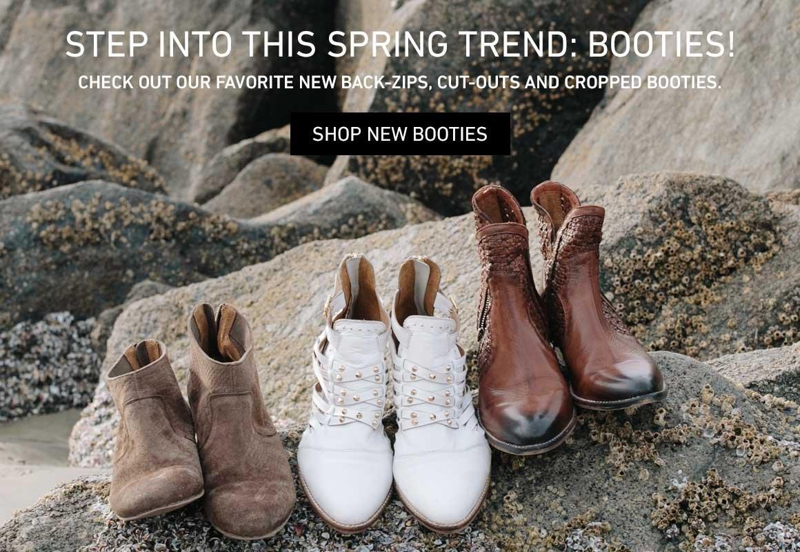Spring Trend: New Booties
