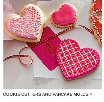 COOKIE CUTTERS AND PANCAKE MOLDS
