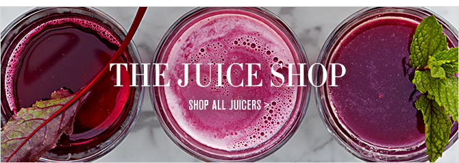 THE JUICE SHOP -- TIPS & RECIPES FROM THE PROS