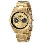 Invicta 14707 Women's Speedway Gold Dial Quartz Multifunction Gold Tone Steel Watch