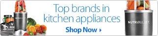 Shop Top Kitchen Appliances Brands