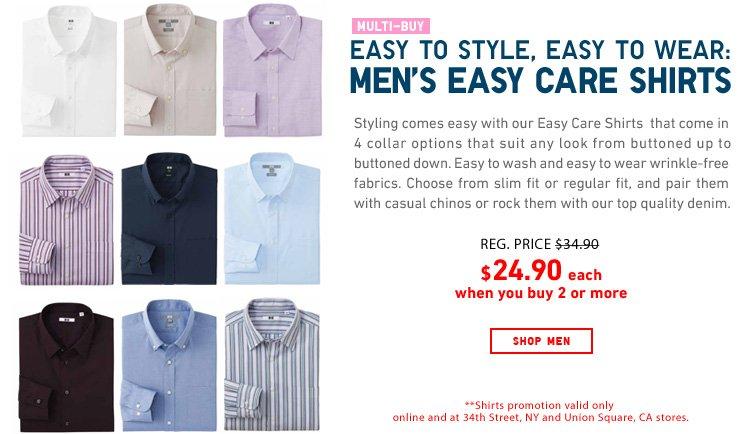 Men's Multi-Buy Shirts