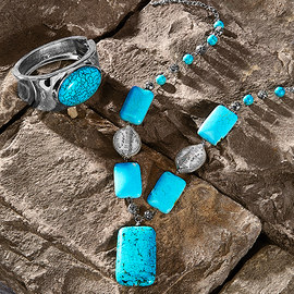 Natural Beauty: Turquoise & Stone