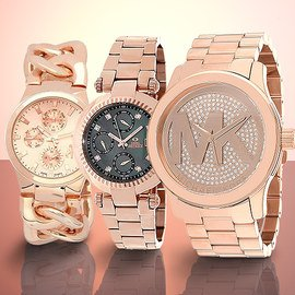 Rose Gold Glamour: Watches