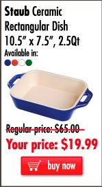 Staub Ceramic Rectangular Dish