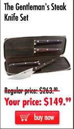 The Gentleman's Steak Knife Set
