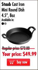 Staub Mini Round Dish