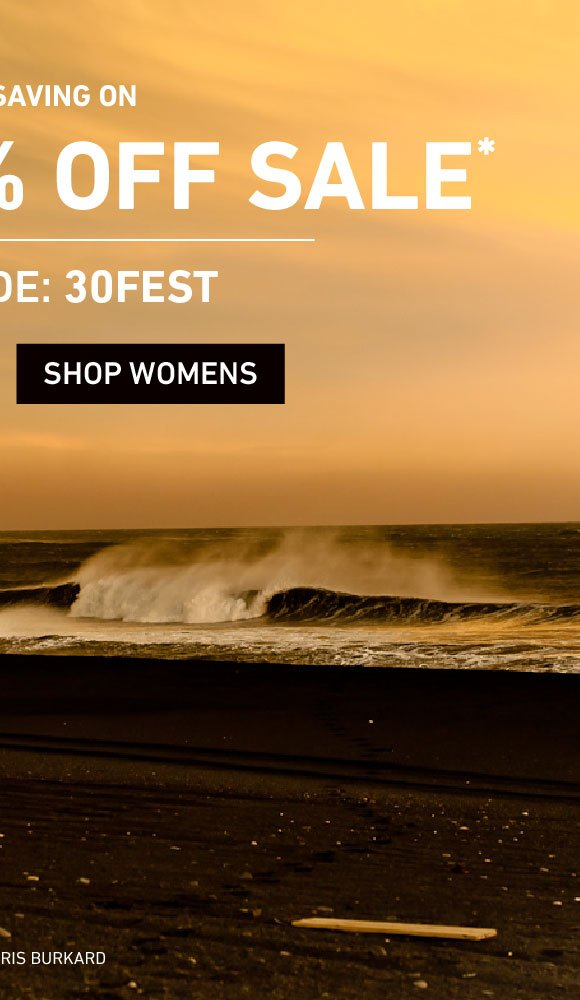 Extra 30% Off Women's Sale on Sale