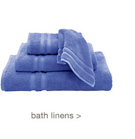 bath linens >