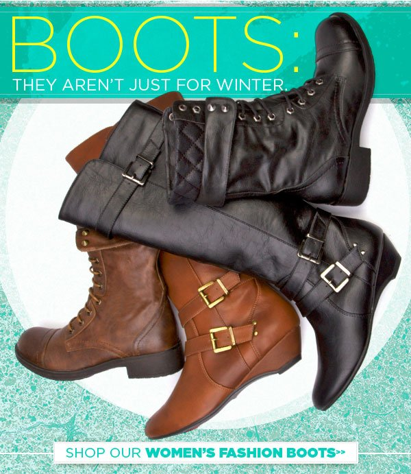 Boots: They Aren't Just for Winter