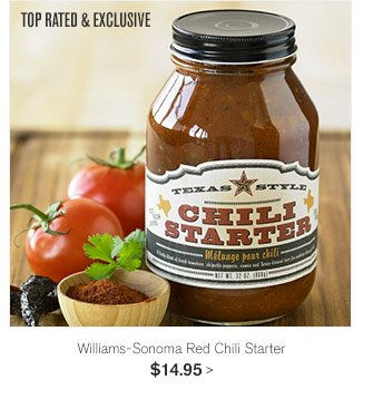 TOP RATED & EXCLUSIVE - Williams-Sonoma Red Chili Starter - $14.95