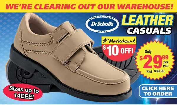 Dr. Scholl's Leather Casuals