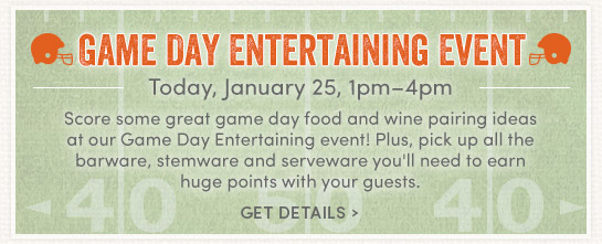 Game Day Entertainment Event