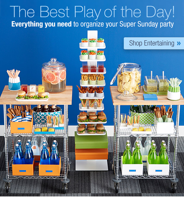 The Best  Play of the Day! Everything you need to organize your Super Sunday party  »