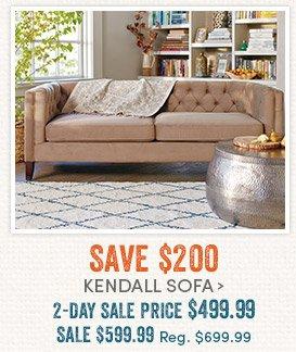 Save $200 Kendall Sofa