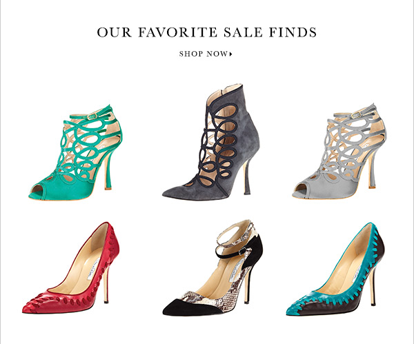 OUR FAVORITE SALE FINDS SHOP NOW