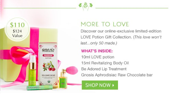 Shop the Limited Edition Love Potion Gift Set