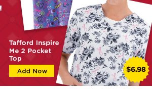 Tafford Inspire Me 2 Pocket Top - Add Now