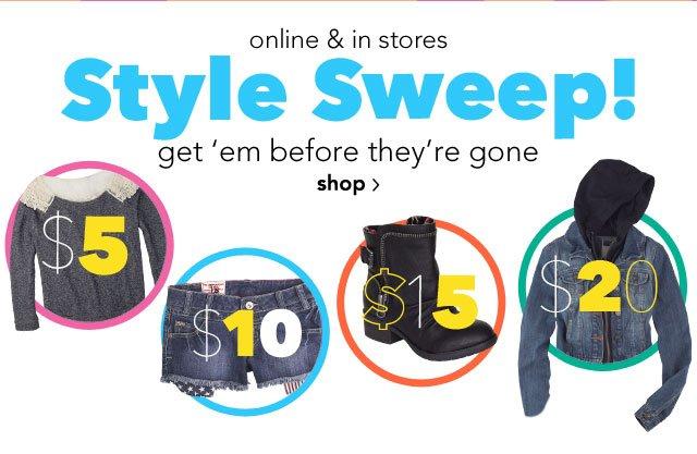 Style Sweep