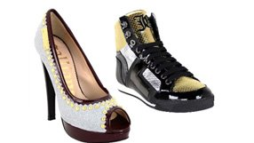 Cavalli and Galliano Shoes