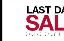 Last Days - Sale - Up to 60% off - Shop Now