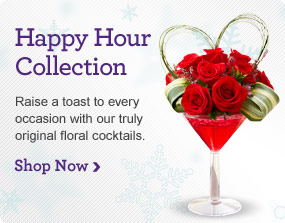 Happy Hour Raise a toast to every occasion with our truly original floral cocktails. Shop Now