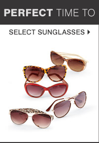 Select sunglasses