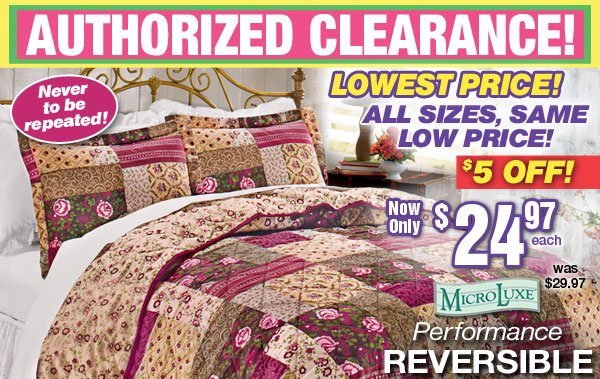 Designer Quilts, Shams and Bed Ruffles